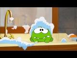Раскраска с Ам Нямом - Учим цвета! - Мультфильмы для детей (мультик 3)