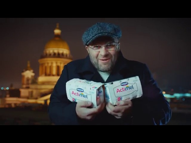 Actimel - Winter adventures of Italians in Russia