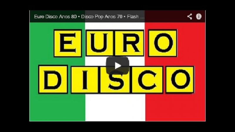Disco Music Anos 70 80 Internacional • Flash Back Part 02