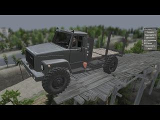 Мод GAZ 3308 (4x4) для SpinTires 25.12.2015
