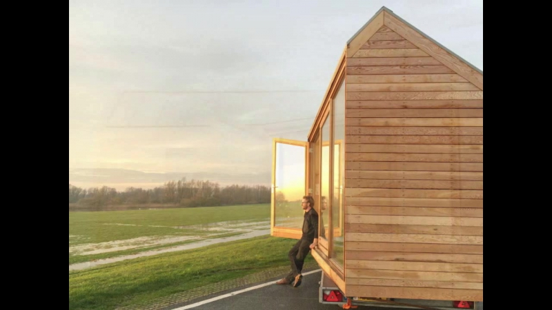 Palatial Dutch tiny house