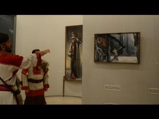 в музее славянской культуры - тайные коды Константина Васильева