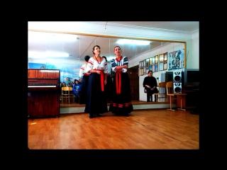 Татьяна Разживина и Елена Курбанова - Ой, у вишневому саду (2014)