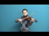 Vlava - Bedrich Smetana - Скрипка - Король Владимирович Алексеев