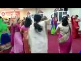 Sahaja yoga middle east Navrathri puja 2015 dancing in Garbha style