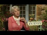 Пряности и страсти/The Hundred-Foot Journey (2014) Интервью с Хелен Миррен, Шарлоттой Ле Бон и Манишем Дайалом