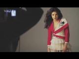 Приянка на съемках фотосессии для журнала Vogue India 2016