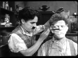 Charlie chaplin barber sceneFunniest by Charlie Ch