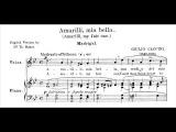 Dmitri Hvorostovsky - Amarilli (Caccini)