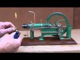World smallest working two-stroke cross-head hot-bulb engine