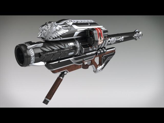 Official Iron Gjallarhorn Destiny: Rise of Iron Pre-order Trailer