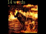 14 WORDS (Manowar Sons of Odin)