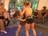 Karine vs Annie Hurricane kickboxing