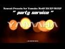 Yamaha Motif XS / XF / MOXF Montage Soundbank Party Service Demo Song