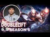 Doublelift Stream Best Play  Lucian vs Kalista  ADC  Full Gameplay Patch 6.8