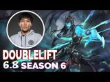Doublelift Stream Best Play Kalista vs Jhin  ADC  Full Gameplay Patch 6.8