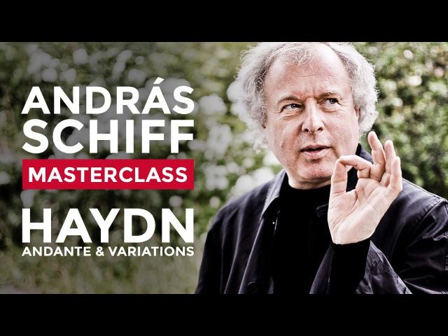 Sir András Schiff Piano Masterclass at the RCM: Alexander Ullman