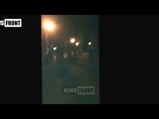 """Батальон """"Азов""""   стрельба по мэру г. Белозерское и его ранение в прямом эфире"""