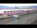 Поездка на пригородном поезде MBTA от Северного вокзала Бостона до Лоуэлла