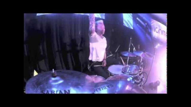 Neverest - Take Cover - Mykey Thomas Drum Cam