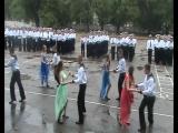 танец с девочками на выпуске в вмл 2016 г.