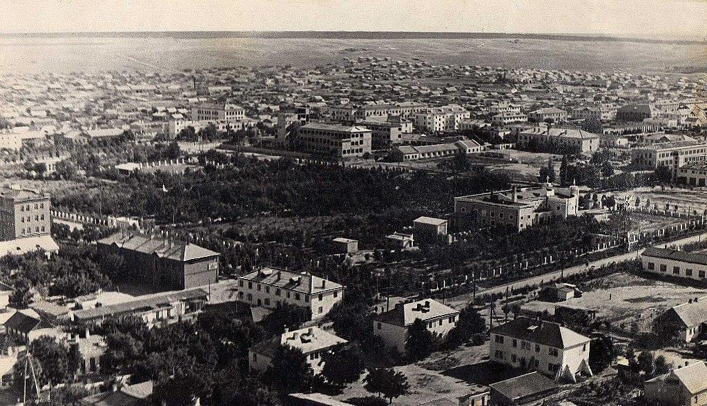 Центр города. 1958 год