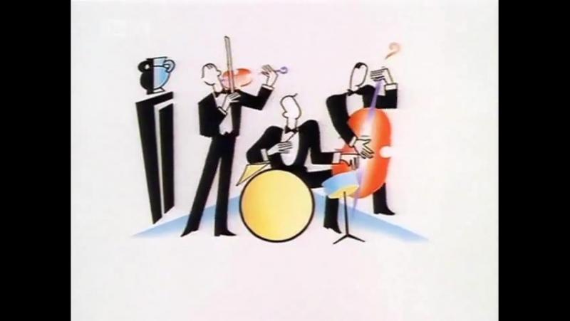 Заставка сериала Дживс и Вустер (Jeeves and Wooster, 1990-1993).480