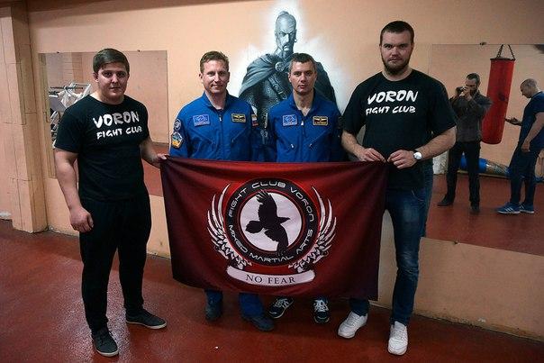 Встреча с космонавтами в клубе ОБЕРЕГ.