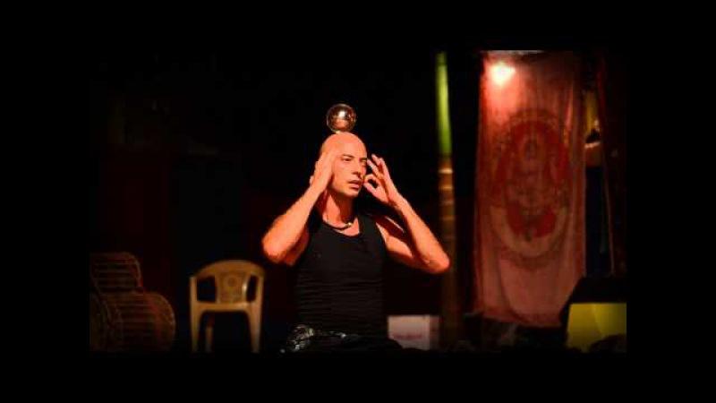Illusionist Kristian Jyoti: Levitation, Yoga, Crystal Ball Contact Juggling Dance by Jiva