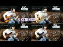 6-String Basses   Modulus   Roscoe   Spector   Warwick - Comparison w/ AngelDust Guitars