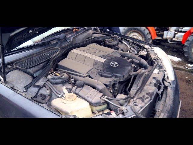 Запускаем новый треш проект. Мерин W220 S500 Long!! V8 POWEEER