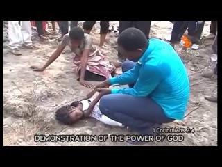 Реальное видео воскрешения мертвой девочки во Имя Иисуса - imbf.org