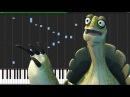 Oogway's Legacy - Kung Fu Panda 3 [Piano Tutorial] (Synthesia) PianoPrinceOfAnime