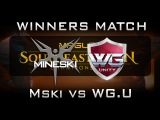 Mineski vs WG Unity Winners Match MPGL SEA Championship 2016 Highlights Dota 2