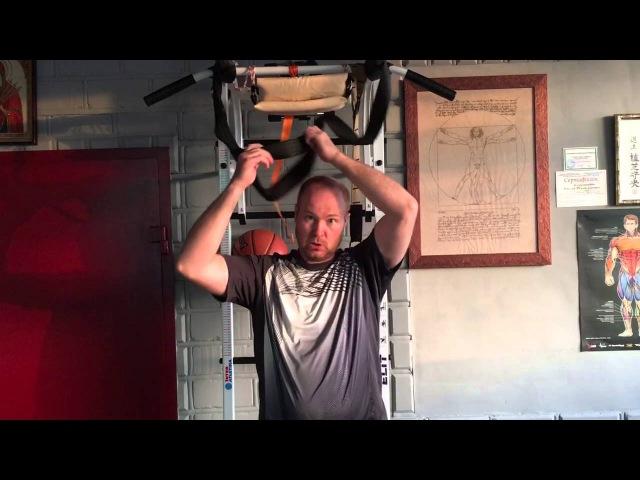 Петля Глисона для вытяжения шеи Снимаем компрессию шеи
