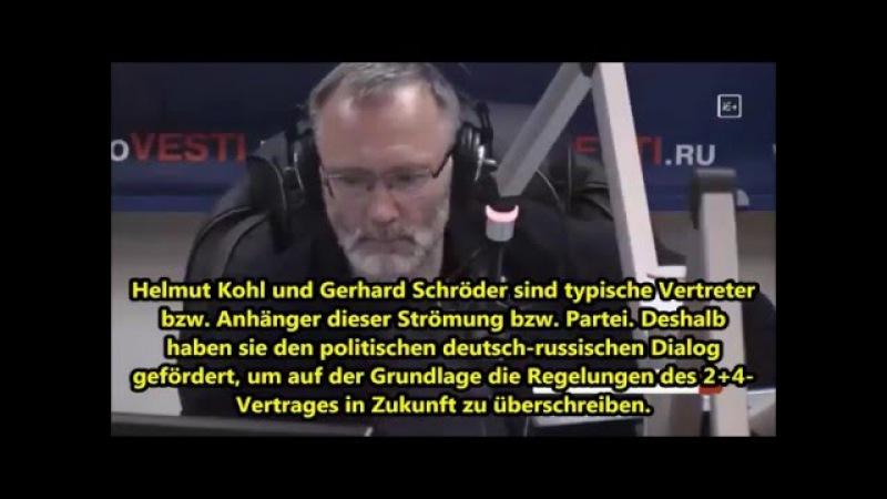 Russischer Historiker über vier Einschränkungen der deutschen Souveränität durch 24-Vertrag