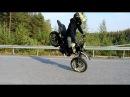 YAMAHA WR 125x Stuntriding