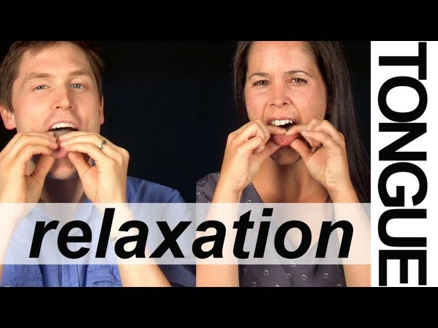 TONGUE RELAXATION EXERCISES (3 of 6) -- Vocal Exercises -- American English Pronunciation
