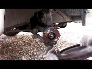 Замена подшипника ступицы переднего колеса ваз 2110, 2114-2115 - видео ролик смотреть на Video.Sibnet.Ru