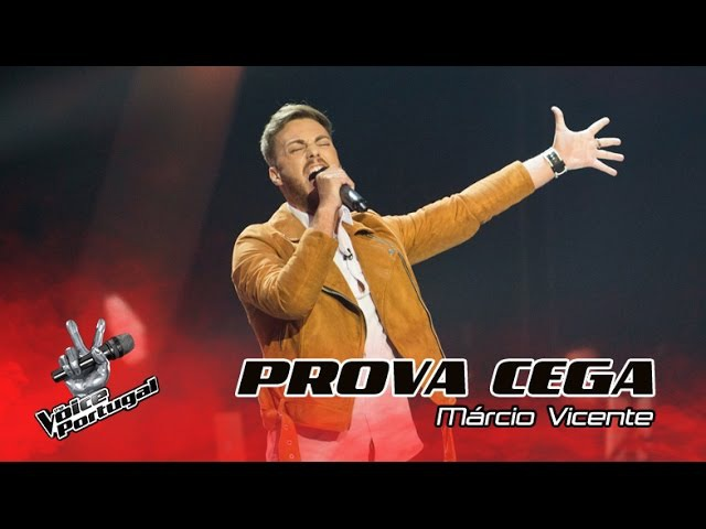 Шоу Голос Португалия Марсио Висенте с песней Восстану из пепла словно феникс The Voice Portugal 2016 Márcio Vicente Rise Like a Phoenix