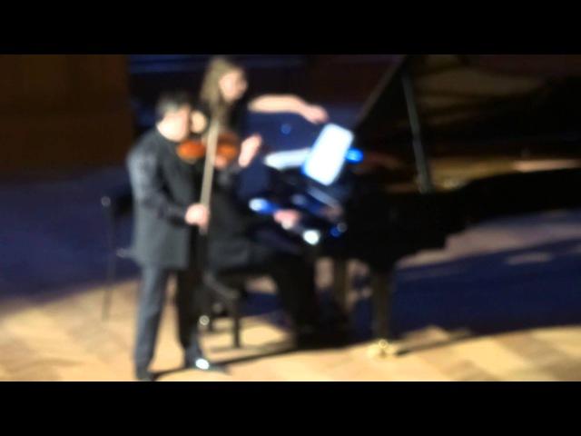 Брамс Венгерский танец № 2 Максим Венгеров скрипка Итамар Голан фортепиано