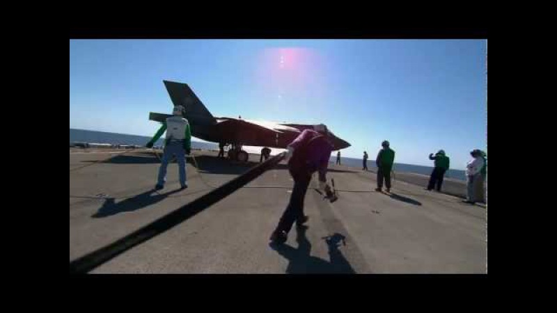 Ordumuzun En Güçlü Silahı F35 ( F-35B Ship Suitability Testing ) HD