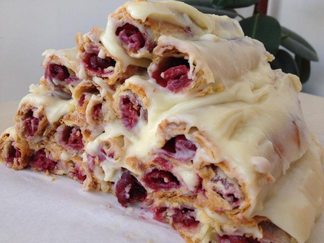 Торт Монастырская Изба (Избушка)-Легко и Вкусно (Cake with Cherry, Izba English Subtitles)