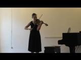 Генрик Венявский. Этюд-каприс №7 для скрипки. Каденция, opus 10.