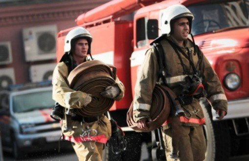 В станице Исправной загорелся одноэтажный дом