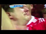 Даже болельщик сборной Уэльса плачет от игры сборной России