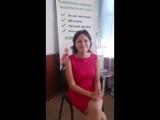 отзыв Валентины Дорошенко по окончании курса Школа правильного питания