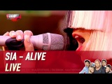 Sia - Alive - Live - C'Cauet sur NRJ