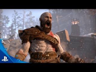 God of War PS 4 — геймплей