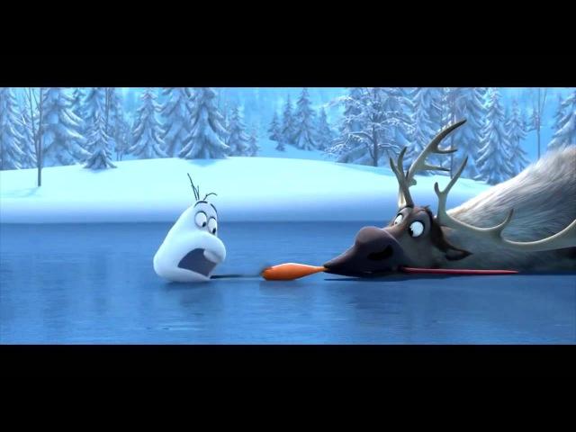 Короткометражный мультфильм. Олень и снеговик. 3D анимационный фильм » Freewka.com - Смотреть онлайн в хорощем качестве